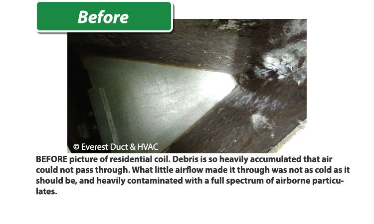 Tucson Everest Air HVAC residential before